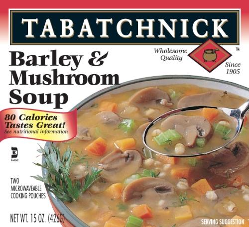 Tabatchnick Barley Mushroom Soup