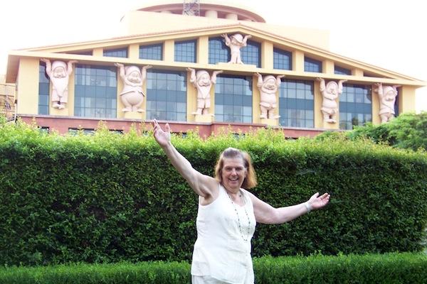 Me at Disney Studio in Burbank