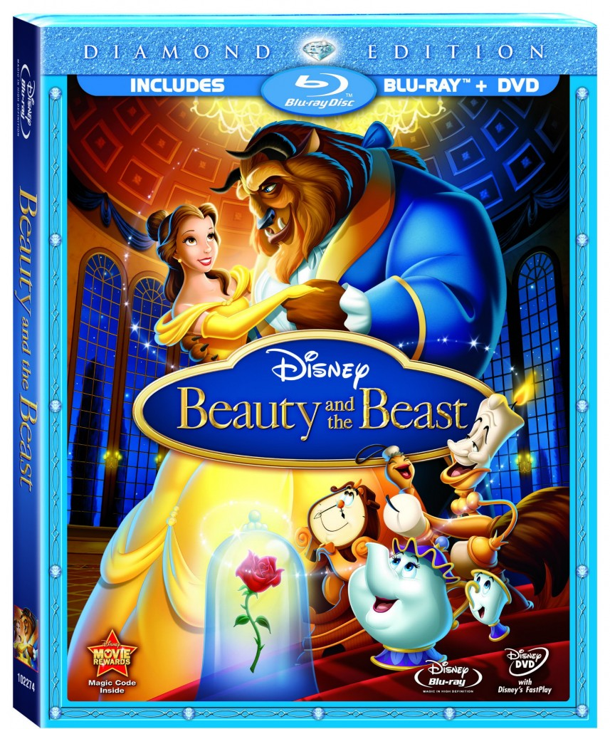 Beauty And Beast Diamond Bluray Combo Cover