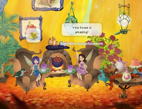 Disney Fairies Pixie Hollow Cricket House