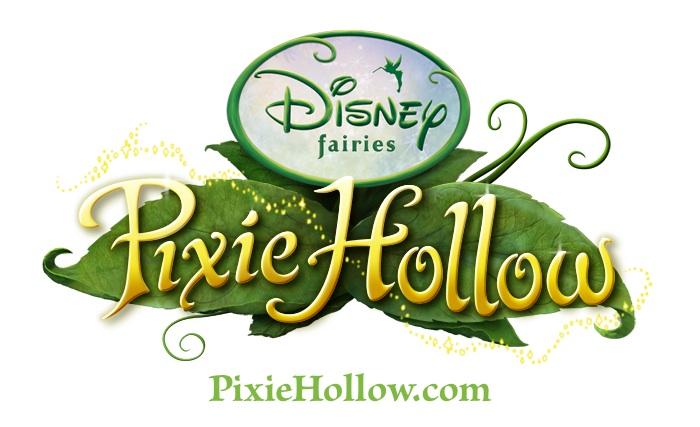 Disney Fairies Pixie Hollow Logo