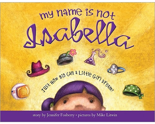 My Name Is Not Isabella Cover