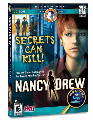 Nancy Drew Secrets Can Kill Cover