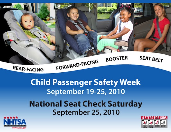 National Seat Check Saturday Flyer