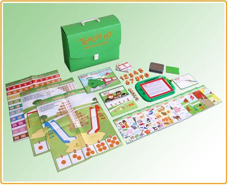 Teach My Preschooler Kit Contents
