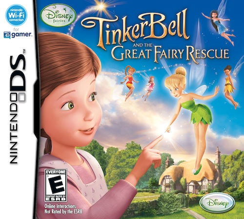 Tinker Bell And The Great Fairy Rescue Ds Box