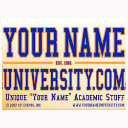 Your Name University Button