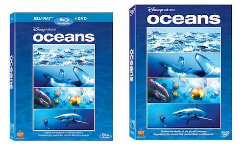 DisneyNature Oceans Cover
