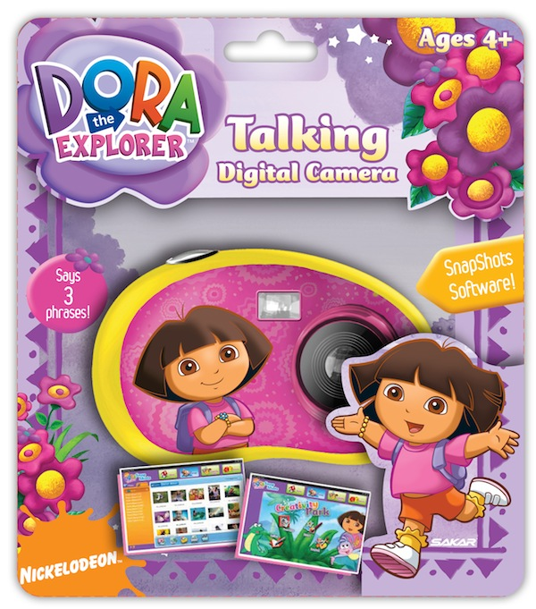 Dora The Explorer Talking Digital Camera