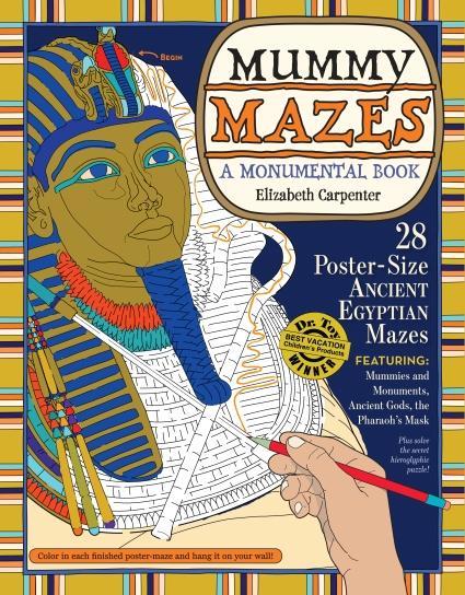 Mummy Mazes Cover
