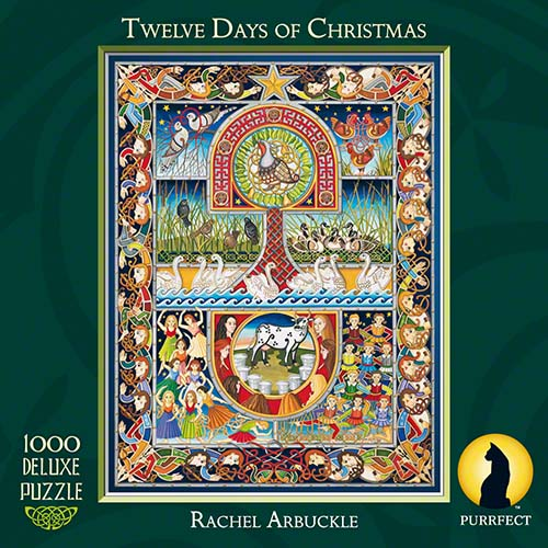 Purrfect Puzzles 12 Days Of Christmas puzzle