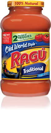 Ragu Old World Style Jar