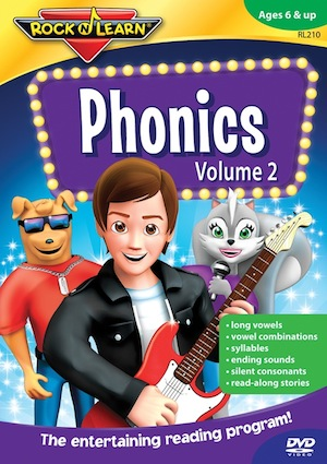 Rock N Learn Phonics Volume 2