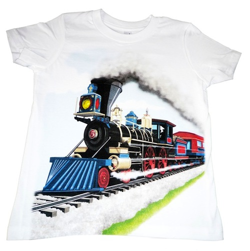 Shirts That Go Steam Train