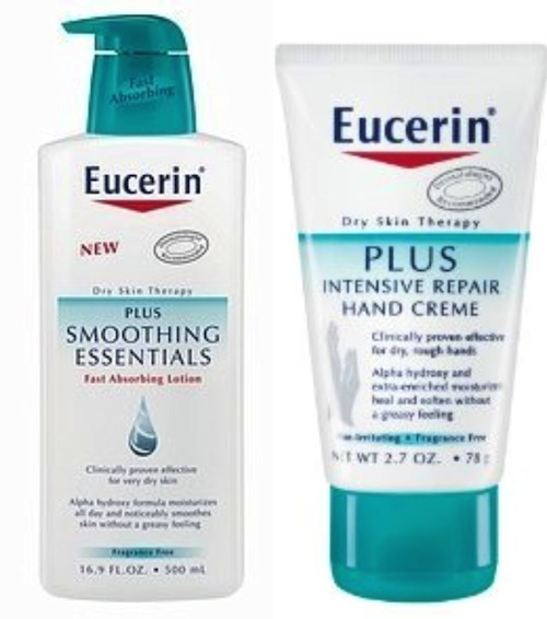 Eucerin Plus Smoothing Essentials
