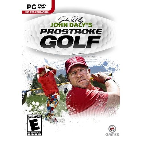 John Dalys Prostroke Golf Video Game Box