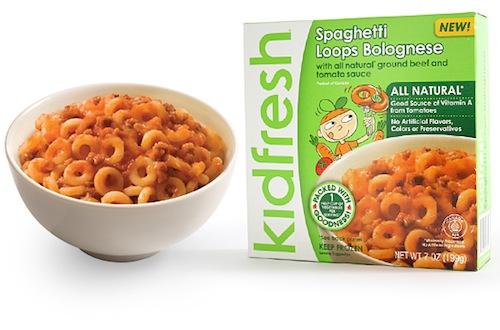 Kidfresh Spaghetti Loops Bolognese