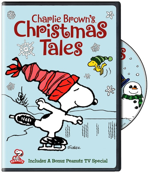 Charlie Browns Christmas Tales Dvd Cover
