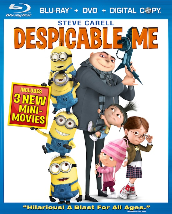 Despicable Me Bluray Cover