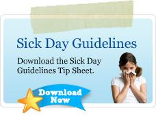 triaminic sick day guidelines
