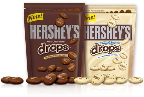 Hersheys Drops Packages