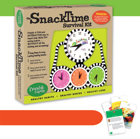 Beantalk Express Snacktime Survival Kit
