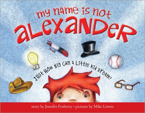 My Name Is Not Alexander Cover