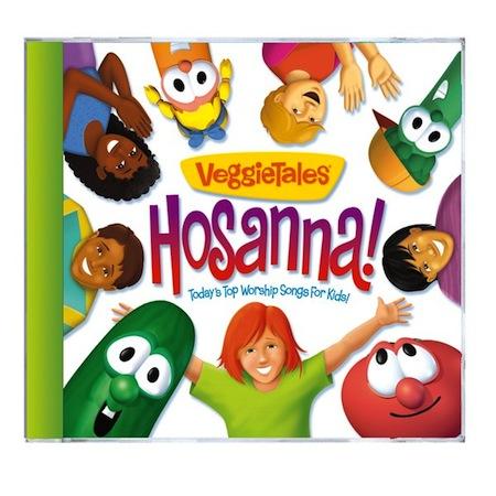 Veggie Tales Hosanna Cd Cover