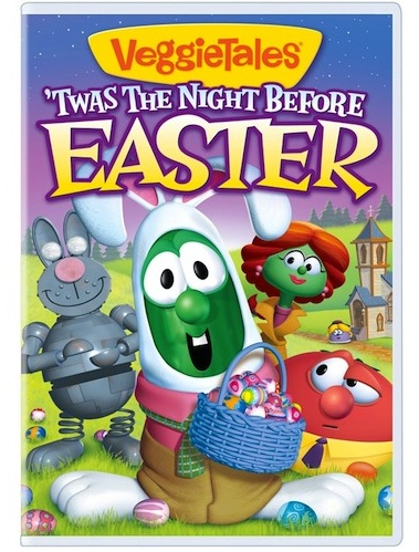 Veggie Tales Twas The Night Before Easter Dvd Cover