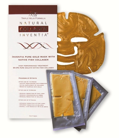 Inventia Collagen Nano Gold Crystal Mask