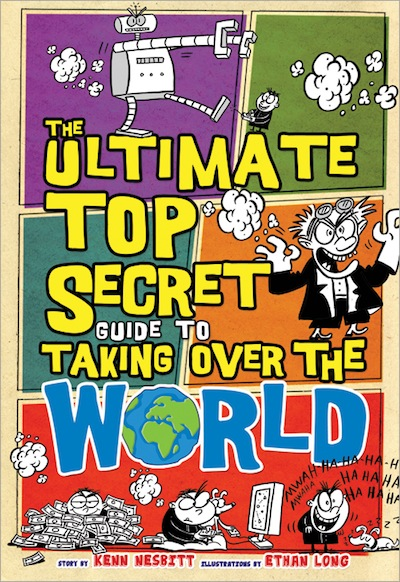 The Ultimate Top Secret Guide To Taking Over The World cover