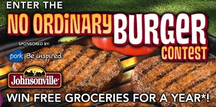 Johnsonville No Ordinary Burger Contest