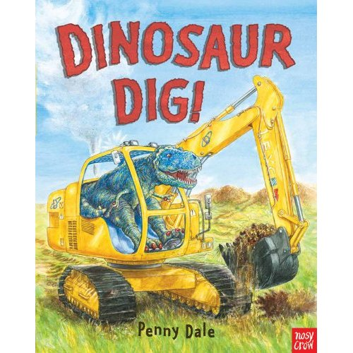 Dinosaur Dig children's book review