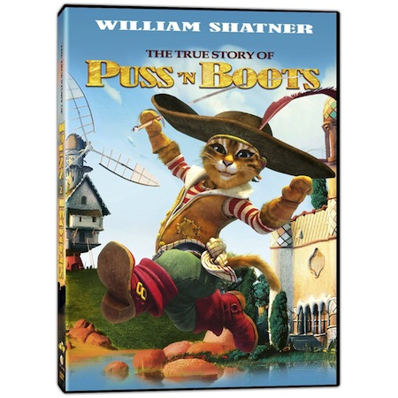 The True Story Of Puss N Boots Dvd Cover