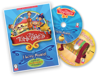 The Tuneables Dvd Cd review