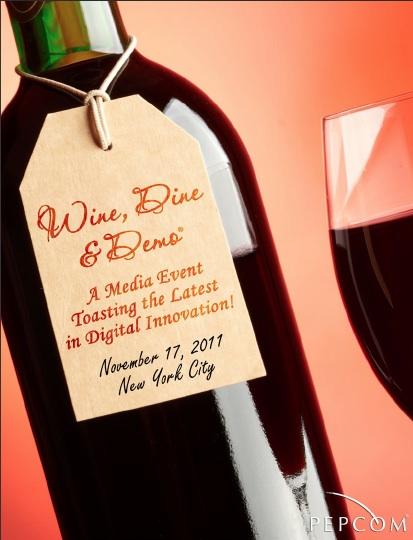 Pepcom Wine Dine & Demo 2011