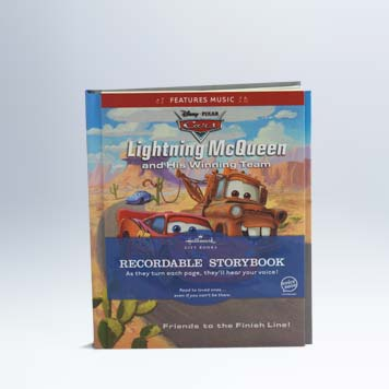 Cars Lightning Mcqueen And His Winning Team Recordable Storybook