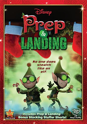Disney Prep & Landing Dvd Cover