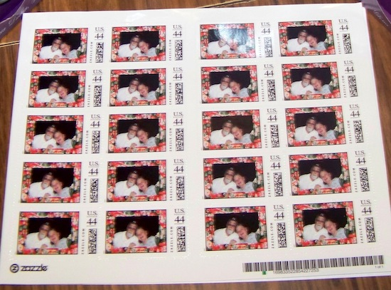 Zazzle stamps review
