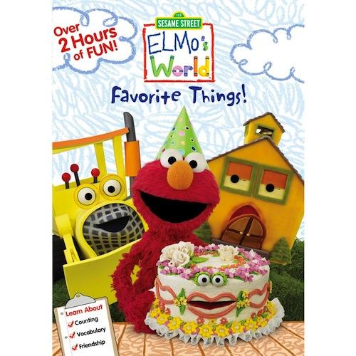 Sesame Street Elmo's World Favorite Things! DVD Review