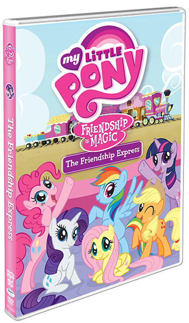 My Little Pony Friendship Is Magic: Friendship Express Dvd Cover