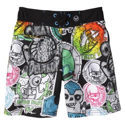 Shaun White Skull Swim Trunks