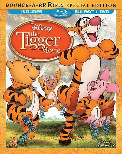 Disney The Tigger Movie Bouncearrrific Blu-ray