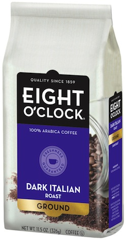Eight O Clock Coffee Dark Italian Roast
