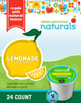 Green Mountain Naturals Lemonade K-Cups