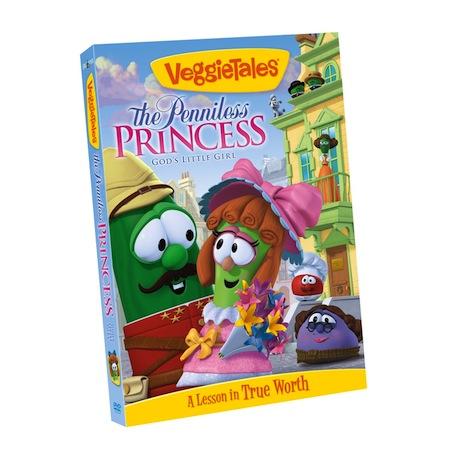 Veggie Tales The Penniless Princess DVD