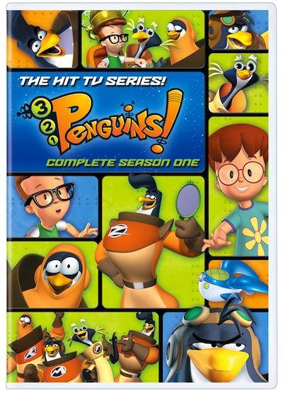 3-2-1 Penguins Season 1 Dvd