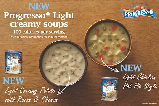 Progresso Light Creme Soups