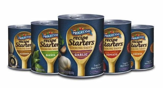 Progresso Recipe Starters Cooking Sauce Lineup