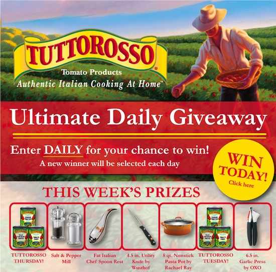 Tuttorosso Ultimate Daily Giveaway